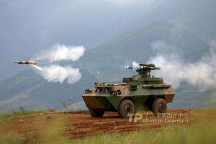 资料图:成都军区驻滇某炮兵旅反坦克导弹营10余辆反坦克导弹发射车.