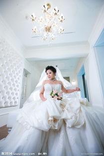 胖新娘拍摄婚纱照的技巧