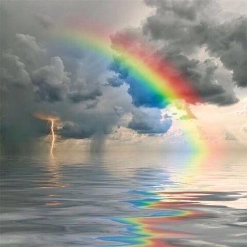 如何给图片增加彩虹效果