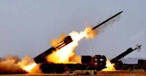 中国新型远程火箭炮