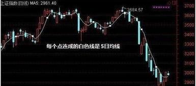 股票中,五日上叉四十日,震荡行情开始了;此话含义?