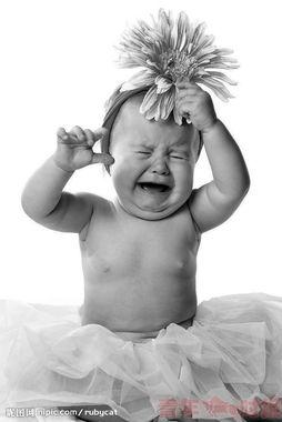 孩子的哭也是一场演出