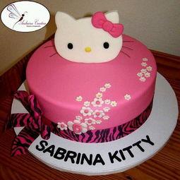 hello kitty生日蛋糕图片大全 祝你生日快乐