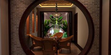 香山别墅6室3厅5卫450㎡ 简欧和中式混搭独栋别墅装修案例 北京搜狐焦点家居