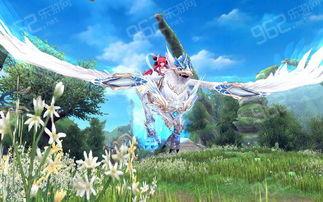 幻想神域飞行坐骑光铠狮鹫兽介绍预览
