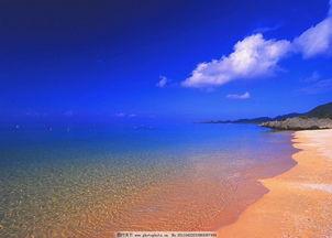 蓝天海边壁纸