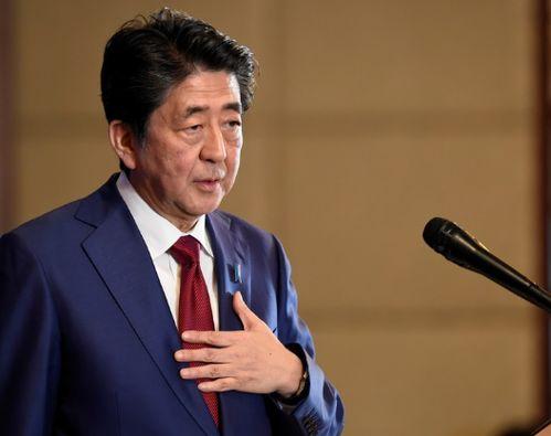 资料图:日本首相安倍晋三.(