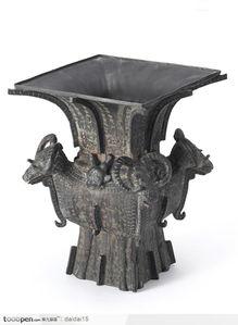 中国传统工艺品青铜器神兽造型水壶