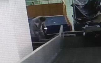一旅客托运的行李中6万元不翼而飞视频记录全过程