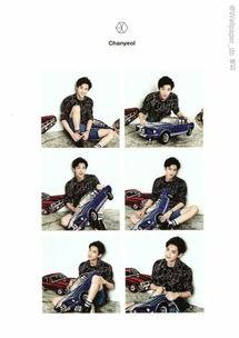 求exo这一个系列的照片的各个成员的单人照,要高清的