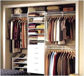 衣柜怎么整理衣服卷