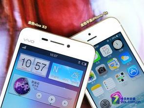 香槟金正流行 vivo X3对比苹果iPhone 5s