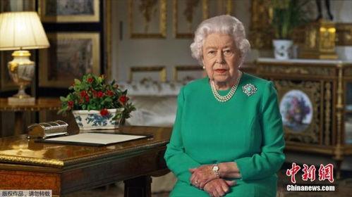 英国女王在温莎城堡发表讲话(图片来源:新京报)