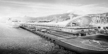 香港未来新地标 启德邮轮码头建成后可停泊世界上最大的邮轮