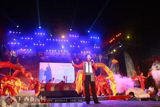 百龙舞宾州 2011年宾阳炮龙之夜文艺晚会欢腾上演
