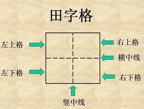 田字的笔顺写法