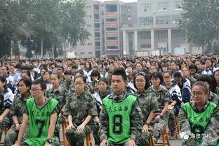 高三学生军训动员讲话