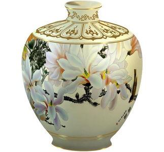 photoshop绘制精美的彩绘国画陶瓷