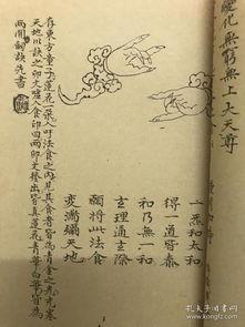 蓬壶法食减句集注符咒类道教修仙类玄术玄术玄法古籍线装一册复印本