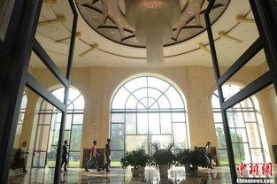 重庆大学城现豪华教学楼 装修风格似五星级酒店