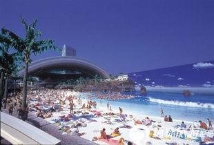 人造热浪 揭秘世界上最大的室内游泳池