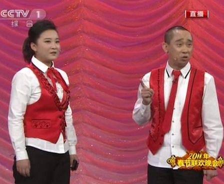 2011年春晚相声《芝麻开门》(贾玲白凯南)