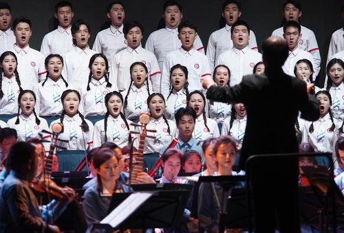 上海音乐学院青春版长征组歌在沪首演