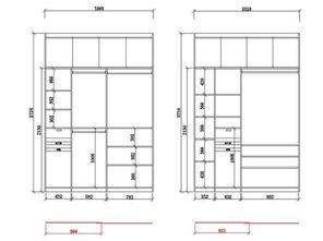 1米8宽的衣柜设计尺寸
