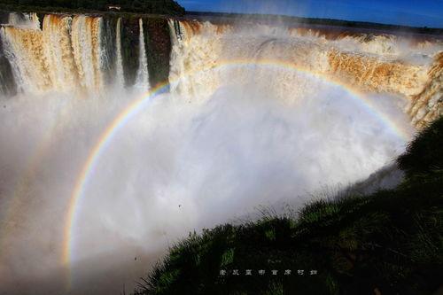 世界上最宽的瀑布:伊瓜苏瀑布,其宽度是尼亚加拉瀑布的4倍  焦格瀑布宽度