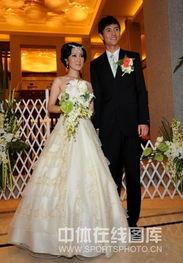奥运冠军仲满在南京举行婚礼