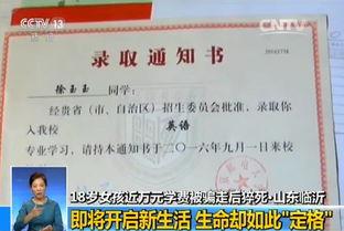 2016年8月,山东省临沂市考生徐玉玉被犯罪嫌疑人以发放助学金的名义,实施电信诈骗骗走9900元.