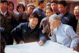 1983年,时任河北正定县委书记的习近平(前排居中