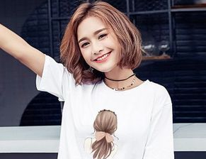 2018流行短发发型女生图片