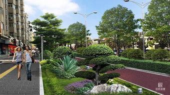 道路绿化效果图设计中植物的设计手法