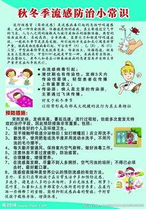 关于防流感小知识