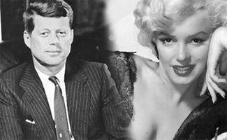 ...露和美国前总统约翰·肯尼迪的私情是20世纪最著名的风流韵事之一...