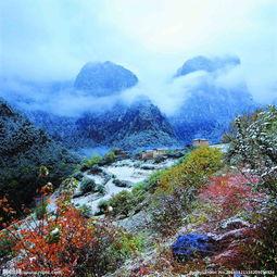 香格里拉里的千湖山,是香格里拉的香格里拉