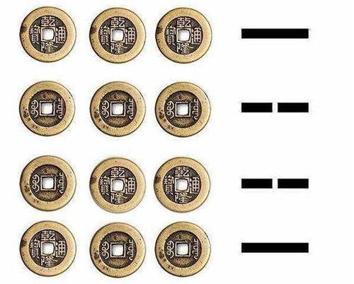 怎么用三枚硬币算卦 详细(哪位能告诉我用三枚硬币具体是怎么占卜的