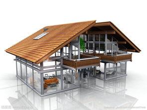 房屋模型图片