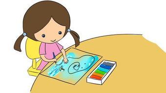 本来简直每个孩子在1岁半和4岁左右时都喜爱涂鸦,这是由于