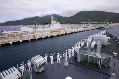 中国南海舰队有哪些基地