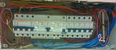 1P N漏电开关怎么接线