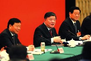 陕西省代表团举行全体会议审议全国人大常委会工作报告