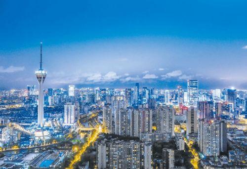 成都进阶中国时尚一线城市