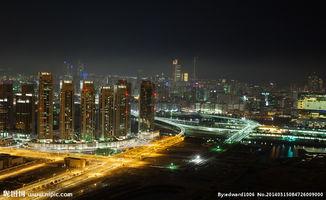 夜景城市风光图片