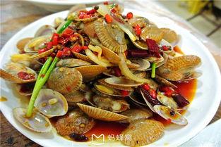 海胆蒸鸡蛋蒜蓉粉丝蒸扇贝豉汁蒸象拔蚌大龙虾和乐蟹辣炒芒果螺