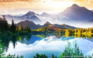 大自然清新唯美风景图片