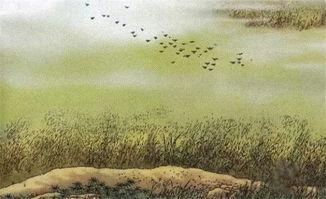 赋得古原草中的千古名句是