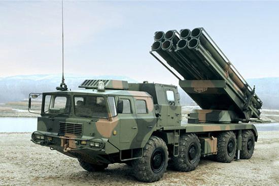 中国ar3型远程火箭炮