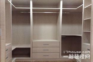 衣柜的分类开放式柜